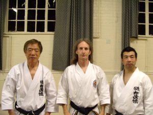 Photo of Karate instructors